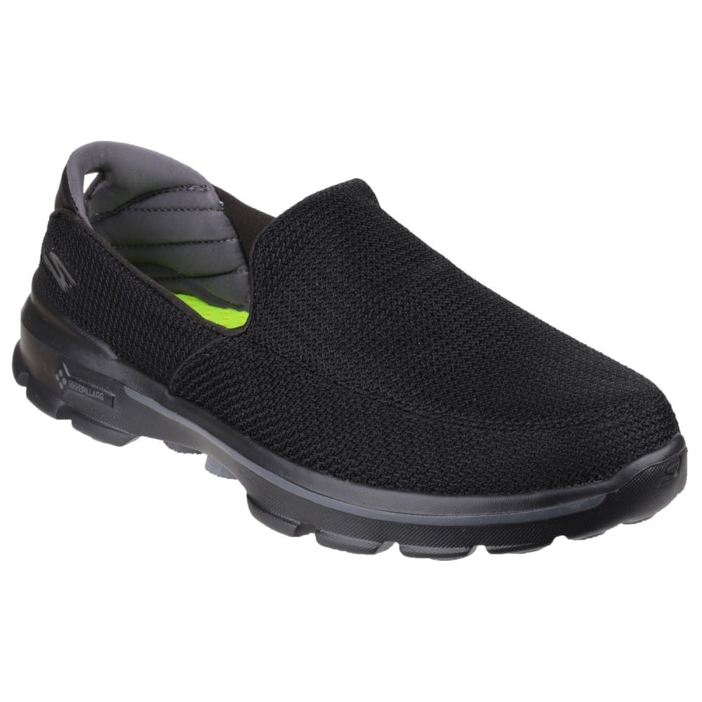 Skechers Go Walk 3 Men S Black Sports Free Returns At