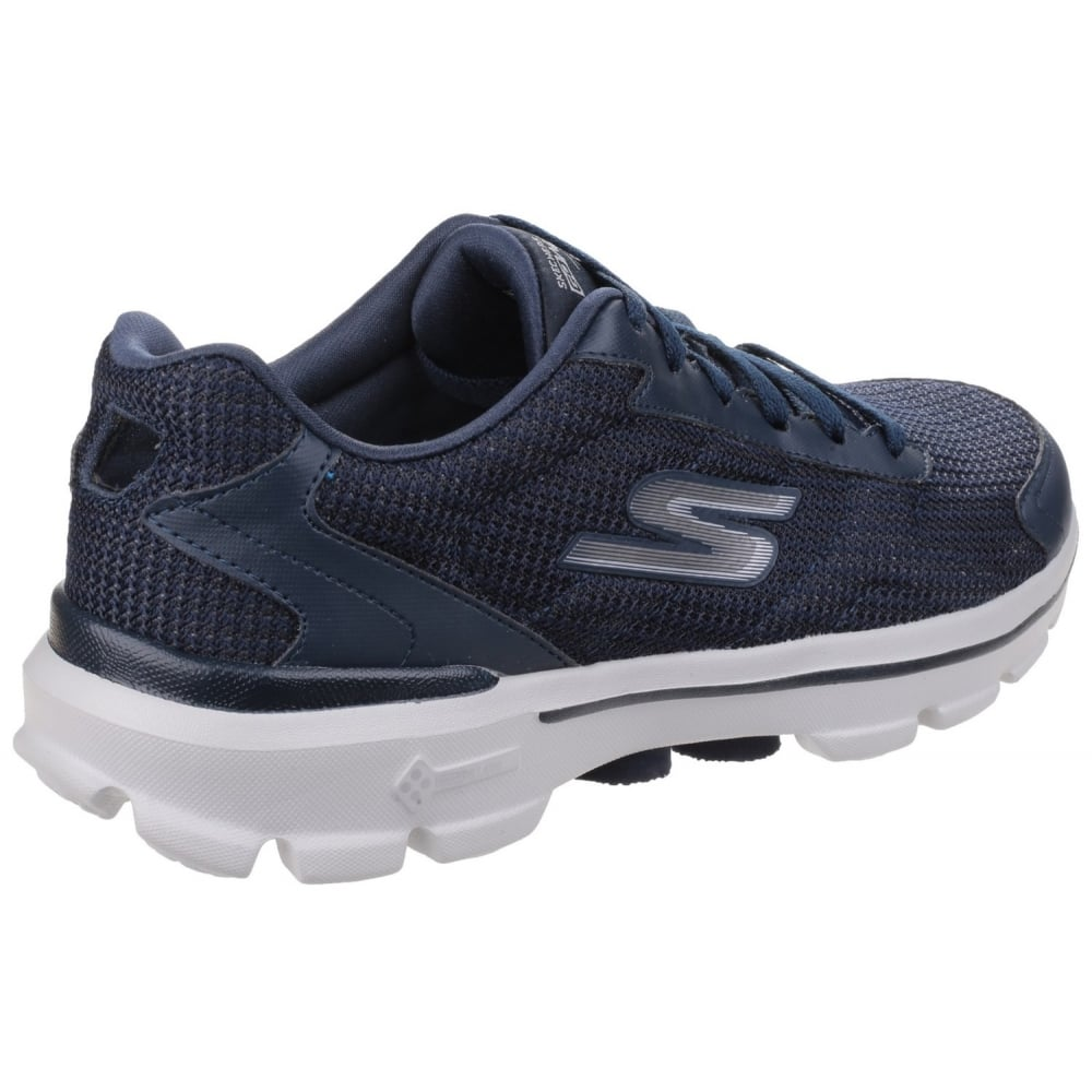 skechers go walk 3 fit knit men 39 s navy sports free. Black Bedroom Furniture Sets. Home Design Ideas
