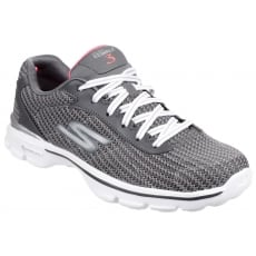 Skechers Go Walk 3 Fitknit Charcoal