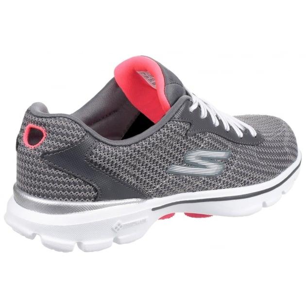 Skechers Go Walk 3 Fitknit Charcoal