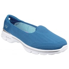 Skechers Go Walk 3 Insight Blue Shoes