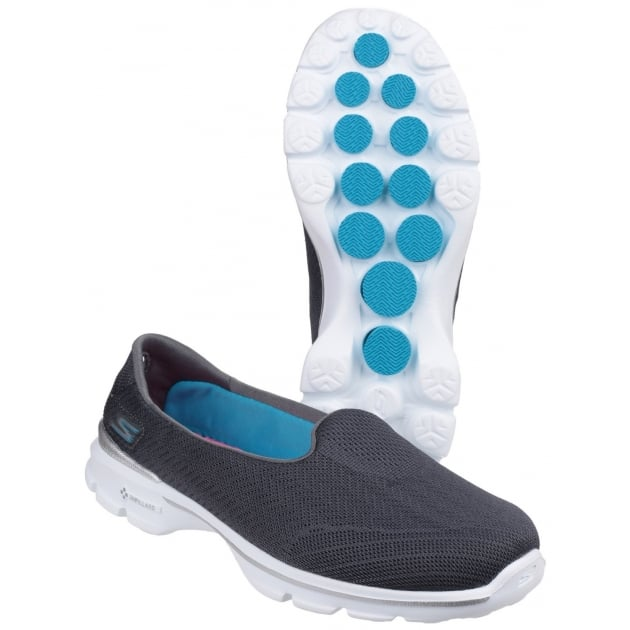 Skechers Go Walk 3 Insight Charcoal