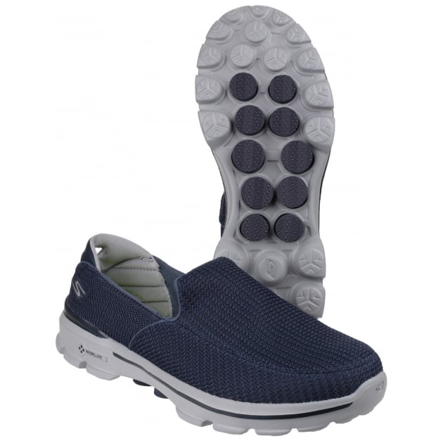 Skechers Go Walk 3 Navy/Grey