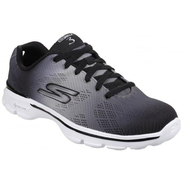 Skechers Go Walk 3 - Pulse Black/White SK14032