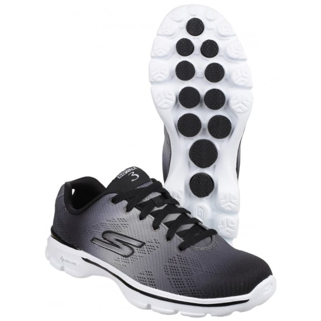 Skechers Go Walk 3 - Pulse Black/White SK14032