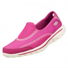 Skechers Go Walk Spark Raspberry Shoes