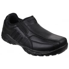 Skechers Grambler - Wallace Slip on Shoe Black SK96311