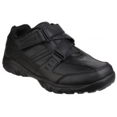 Skechers Grambler Zeem Hook and Loop Shoe Black SK96314L