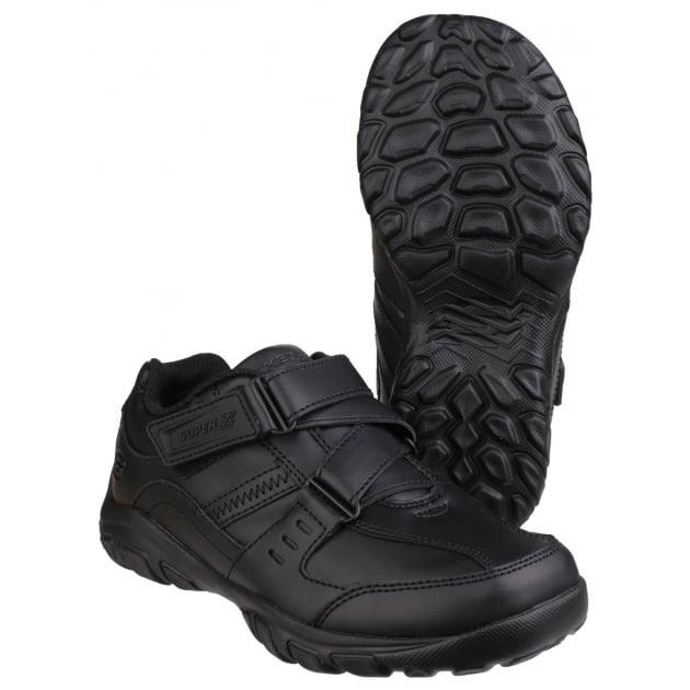 Skechers Grambler Zeem Hook and Loop Shoe Black SK96314L