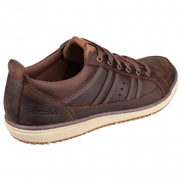 Skechers Irvin Hamal Sk63418 Chocolate/Dark Brown Shoes