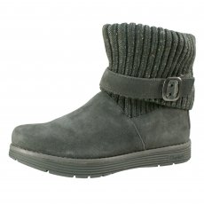 Skechers J Adore Charcoal Boots