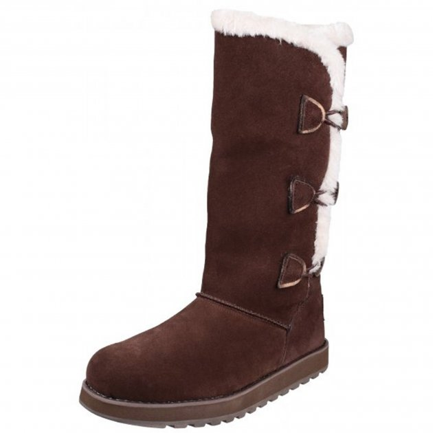 Skechers Keepsakes Conceal Sk48363 Chocolate Boots
