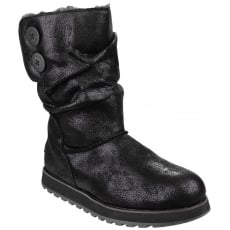 Skechers Keepsakes Esque Black Boots
