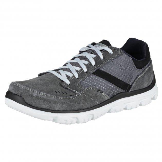 Skechers L-Fit Comfort Life Sk51400 Charcoal Shoes