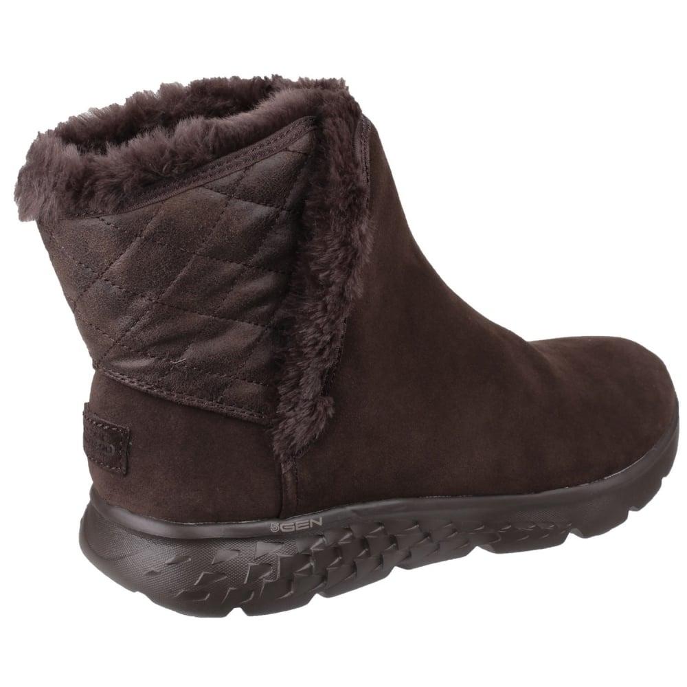 Skechers Damen Stiefel ON THE GO 400 Cozies 14356CSNT braun | Schuhe direkt vom Schuhhändler