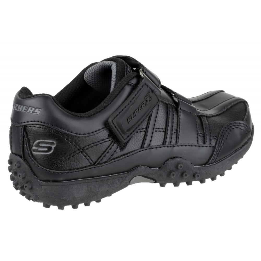 Skechers Black Velcro Shoes