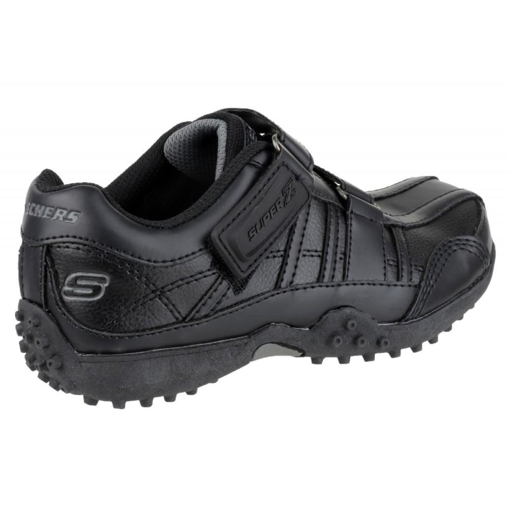 Wide Fit Black School Shoes