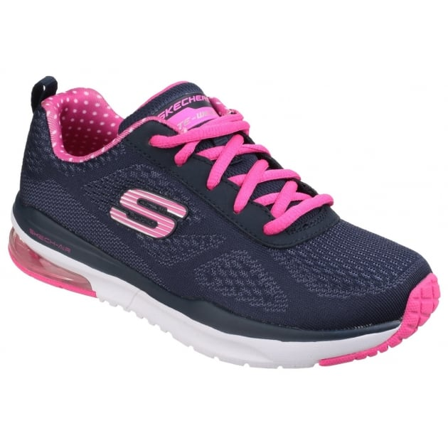 Skechers Skech-Air: Infinity Navy/Pink Girls