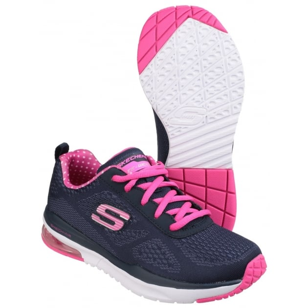 Skechers Skech-Air: Infinity Navy/Pink Girls SK81950L