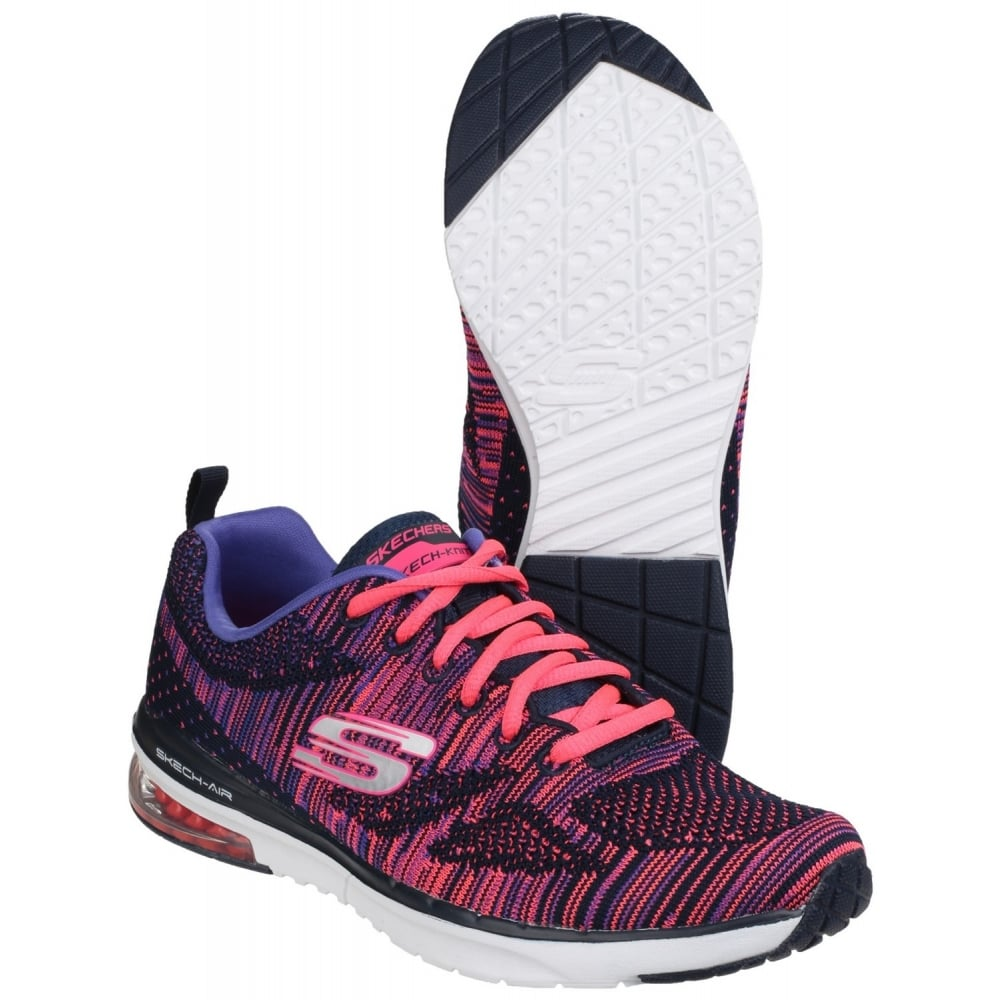 929a463fb01a Skechers Skech-Air Infinity - Wildcard Lace Up Sports Shoe Women s ...