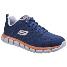 Skechers Skech-Flex 2.0 - Milwee Navy/Orange