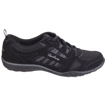 Skechers Active Breathe Easy - Good Luck Black