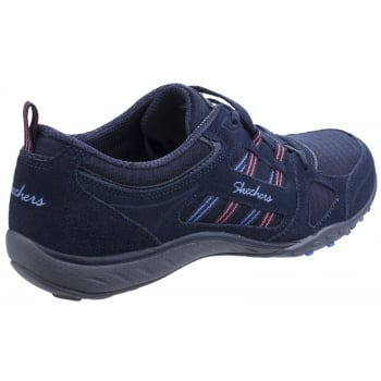 Skechers Active Breathe Easy - Good Luck Navy Trainers