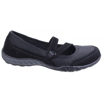Skechers Active Breathe Eazy - Lovestory Black Shoes