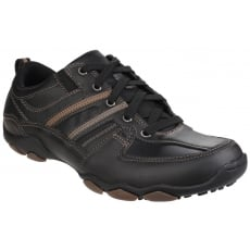 Skechers Diameter Selent Lace Up Shoe - Black Shoes