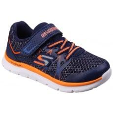 Skechers Flexies - Fast Stepz Navy/Orange