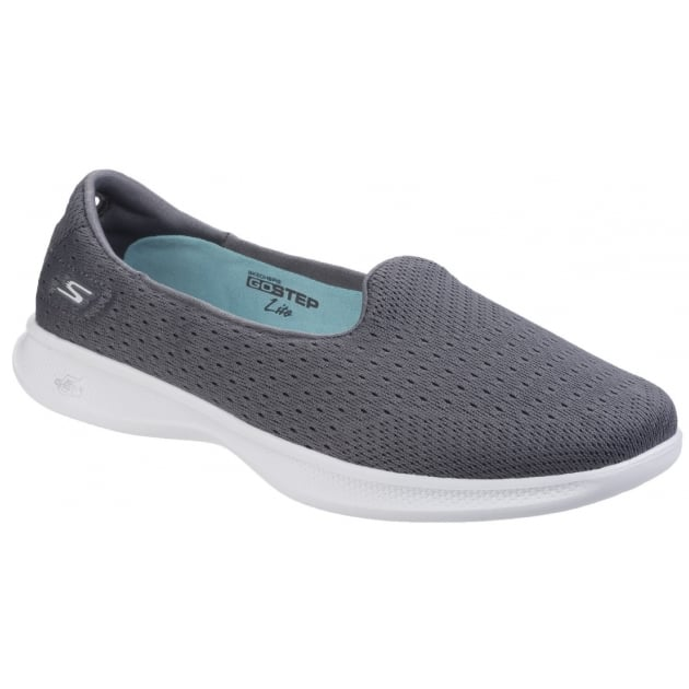 Skechers Go Step Lite Origin - Charcoal Shoes