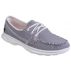 Skechers Go Step Sandy - Navy/White Shoes