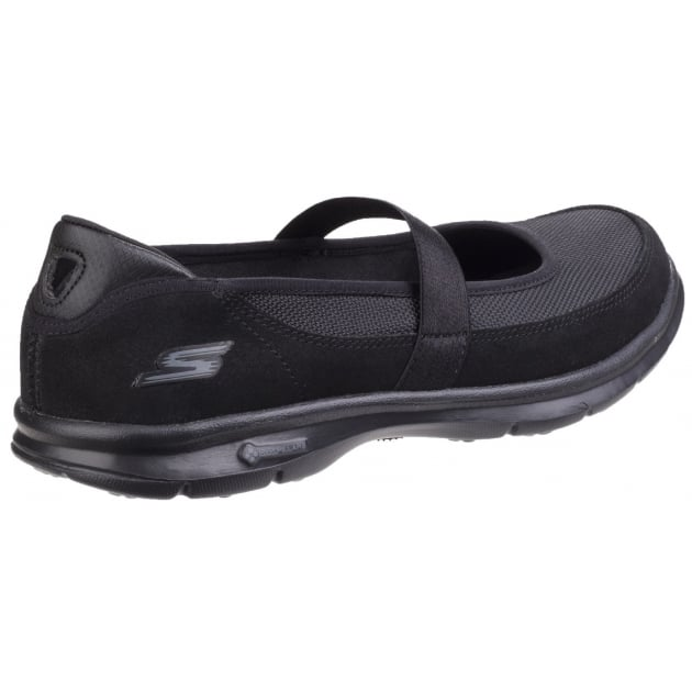 Skechers Go Step Snap - Black/Black Shoes