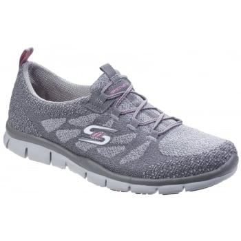 Skechers Gratis - Sleek And Chic Grey Trainers