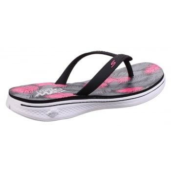Skechers H2 Goga - Lagoon Black/Pink