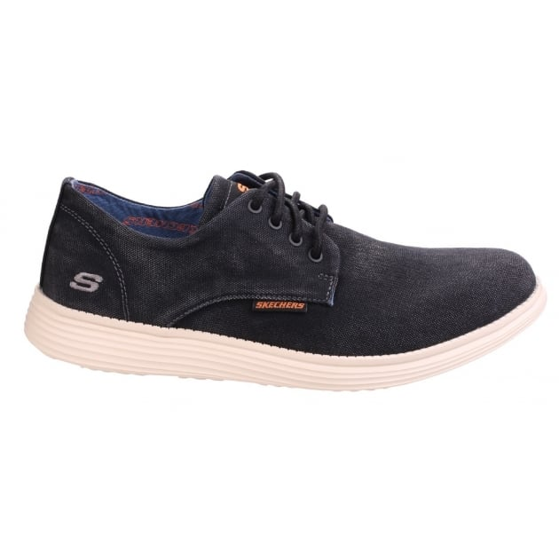 Skechers Relaxed Fit: Status-Borges - Black