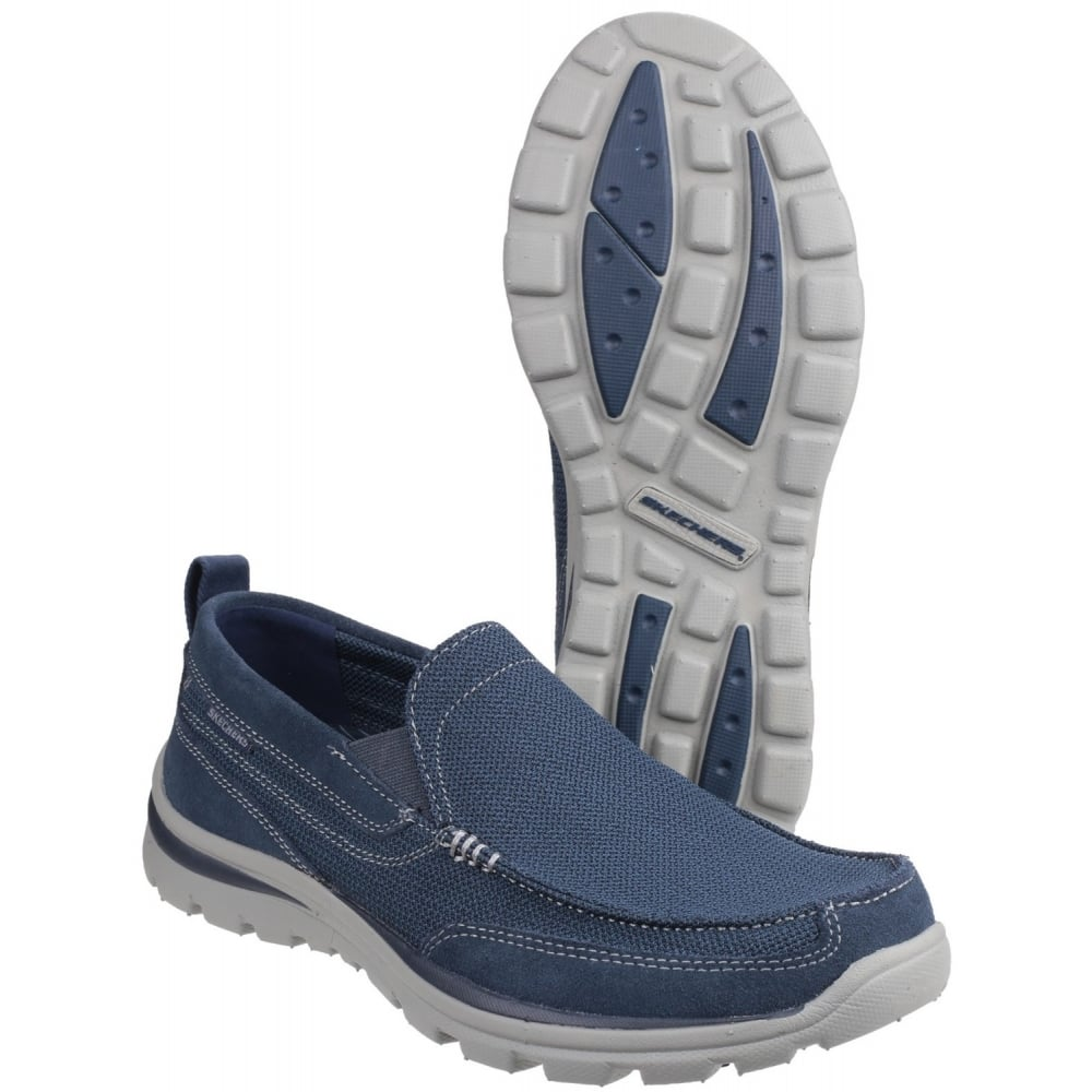 Skechers Superior Milford Navy Shoes