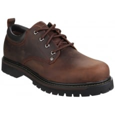 Skechers Tom Cats Lace Up Shoe Dark Brown Shoes
