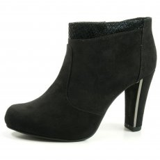 Tamaris 25052 Black Suede Boots