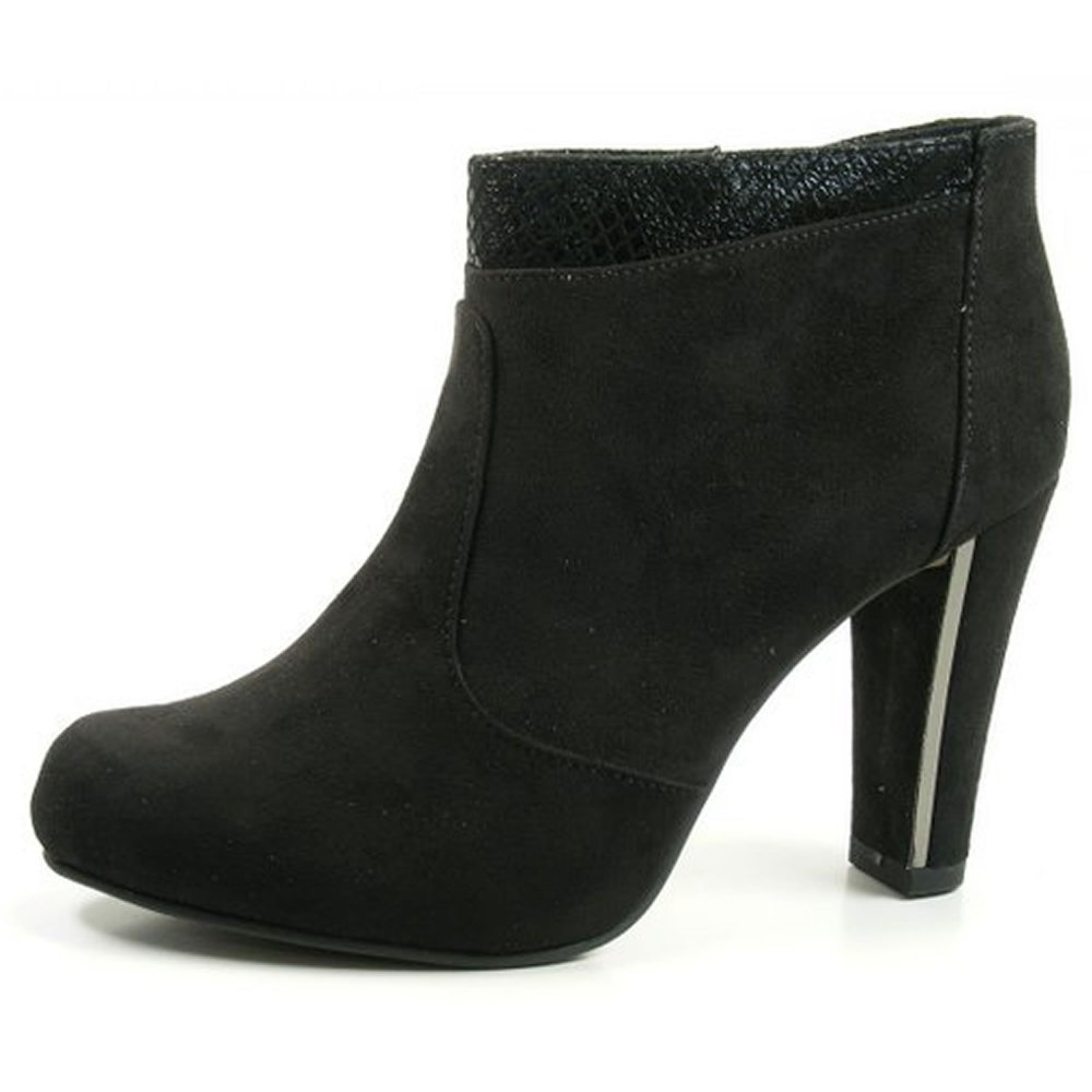 tamaris 25052 s black suede boots free delivery at