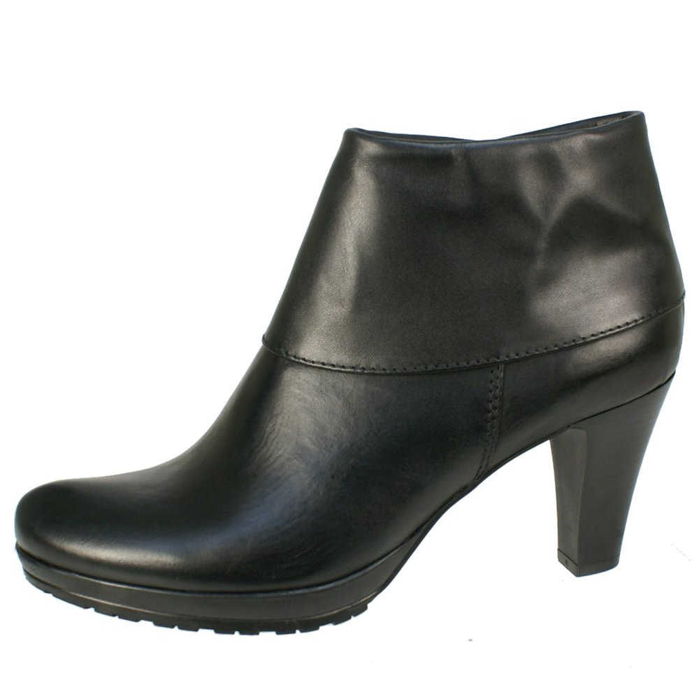 tamaris 25460 women 39 s black boots free delivery at. Black Bedroom Furniture Sets. Home Design Ideas
