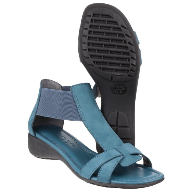 The Flexx Band Together Nubuck Petrol Sandals