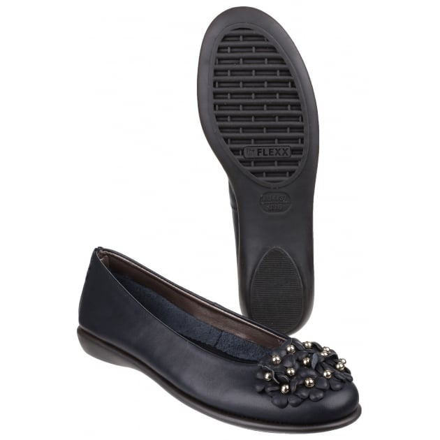 The Flexx Miss Daisy Cashmere Black Shoes