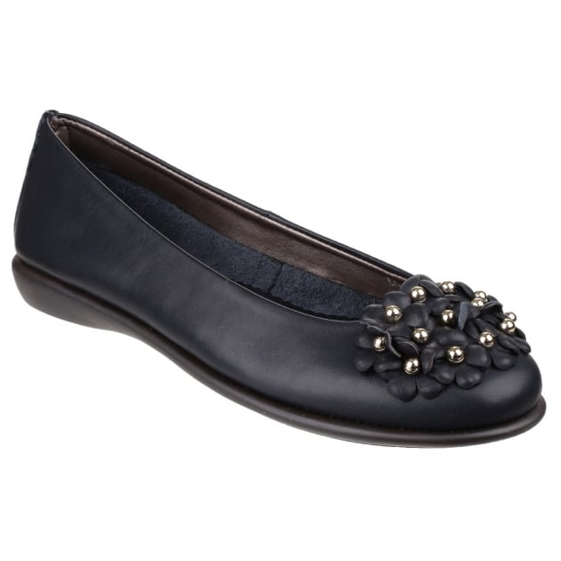 The Flexx Miss Daisy Cashmere Navy Shoes