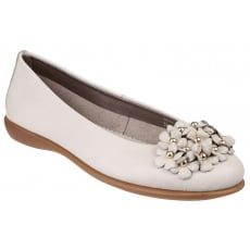 The Flexx Miss Daisy Cashmere Panna Shoes