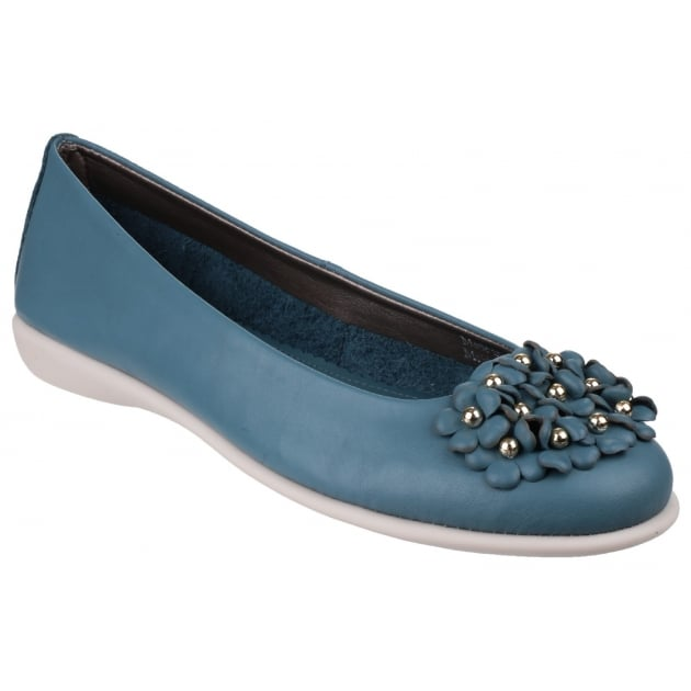 The Flexx Miss Daisy Cashmere Petrol Shoes
