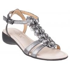 The Flexx New Gladiola Tris Piombo Sandals