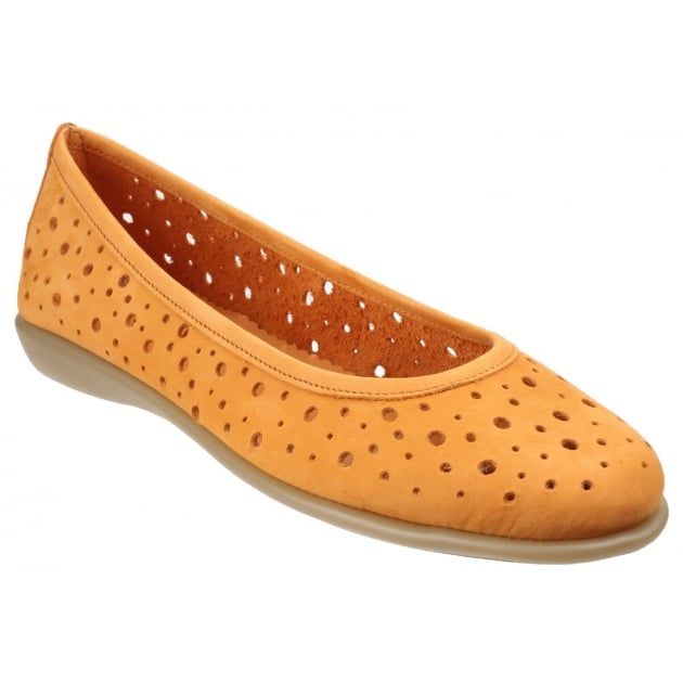 The Flexx New Passion Nubuck Ocre Shoes