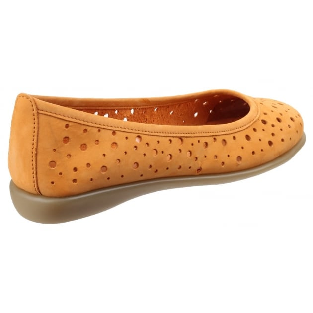 New Passion Nubuck Ocre Shoes