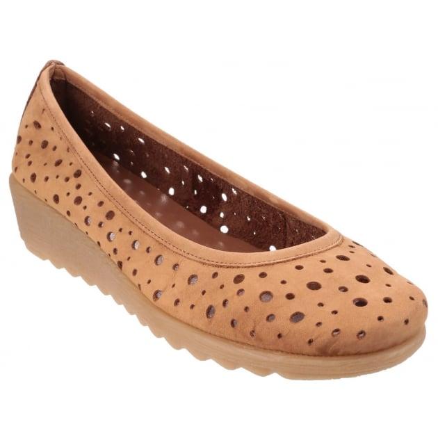 Run Perfed Nubuck Tabaco Shoes
